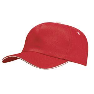Κόκκινο διαφημιστικό καπέλο