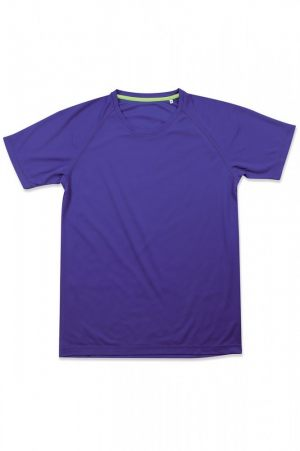 Μπλε διαφημιστικό μπλουζάκι από την εταιρεία Μπαξεβανίδης Α.Ε.