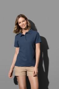 Μπλε διαφημιστικό μπλουζάκι polo από την Μπαξεβανίδης Α.Ε.