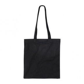 Μαύρη διαφημιστική πάνινη τσάντα από την Μπαξεβανίδης Α.Ε.