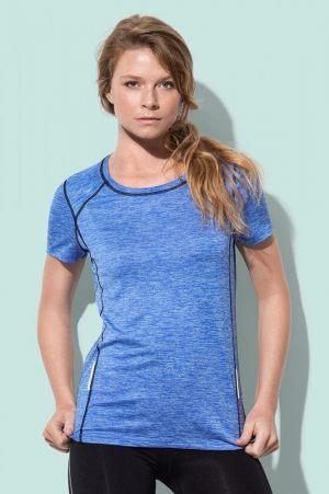 Γαλάζιο διαφημιστικό μπλουζάκι από την εταιρεία Μπαξεβανίδης Α.Ε.